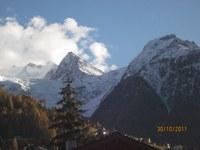 Ansicht vom Haus, Ried Gletscher